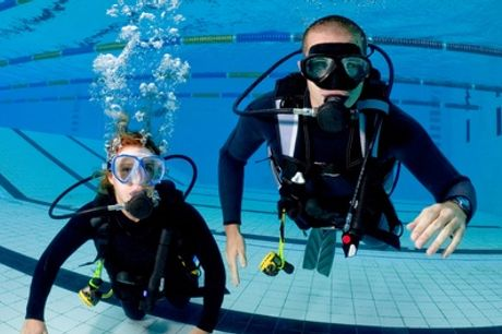 Introductory SCUBA Diving Session for One or Two with Dive Odyssea