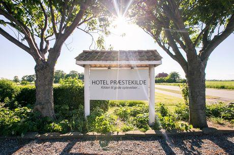 Hotel Præstekilde: Vælg mellem 3 lækre forkælelsesophold. Vælg mellem 3 lækre opholdstyper og få dejlig middag og morgenmad