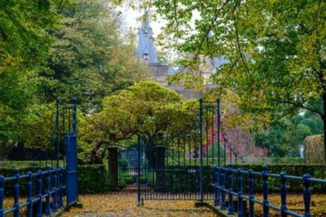 Toegang tot de kasteeltuin bij Kasteel-Museum Sypesteyn in Loosdrecht