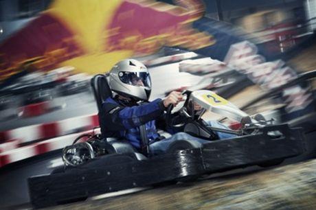Van der Ende Racing Inn: 1-4 heats karten op de 1,3 km lange kartbaan in Poeldijk