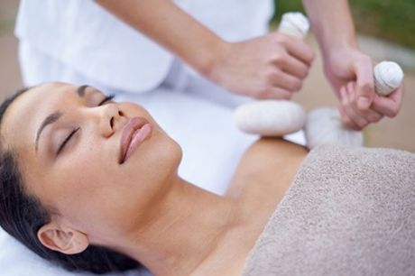 One-Hour Full-Body Hot Oil Ayurvedic Massage at Healing Touch Ayurvedic Herbal Clinic