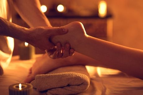 Reflexology session and an organic facial at 4 You Hair and Massage Studio