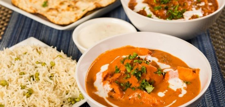 Toward Food and Drink at Balti King