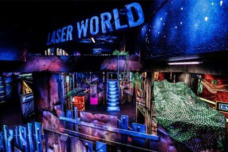 1, 2 ou 3 parties de laser game pour 1,2 ou 4 personnes (Offre lundi soir) au Laser World