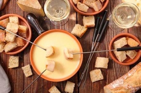 Fondue savoyarde ou bourguignonne pour 2 ou 4 personnes avec kir au vin à l'Auberge Notre-Dame