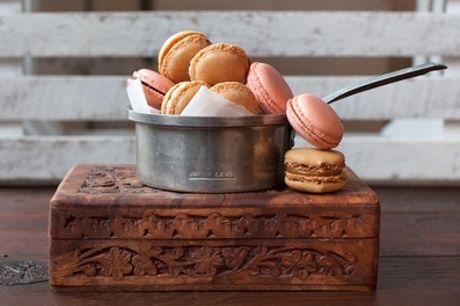 Boîte de 20 macarons sucrés ou salés bio et sans gluten chez Michel Balmet