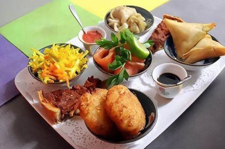 Menu créole, entrée et plat ou plat et dessert ou entrée, plat et dessert pour 2 personnes au Maloya