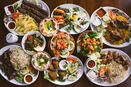 Formule à volonté cuisine libanaise pour 2 ou 4 personnes au restaurant Damouri