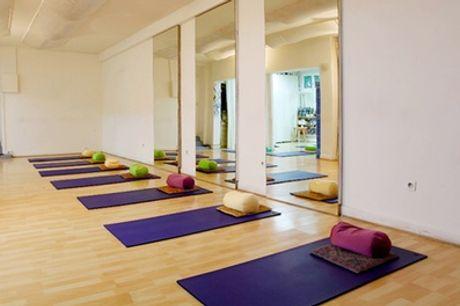 5 cours d'Hatha Yoga d'1h30 chacun à l'Atelier 115