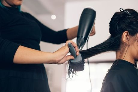 Wash, Cut and Blow-Dry with Optional Half Head of Highlights at Divine Hair and Beauty Salon