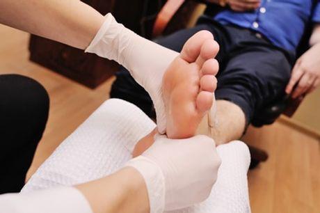 1 séance de beauté des pieds de 30 minutes pour homme à l'institut Beautés du Monde