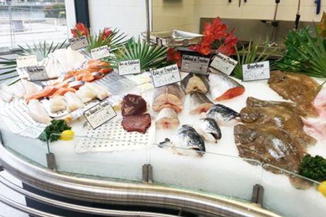 Bon d'achat donnant droit à sur les produits de la poissonnerie de l'île de la Jatte
