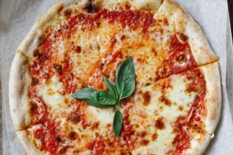Takeaway 12-Inch Pizza and Soft Drink or Iced Tea for Two or Four from The Barrel Boulangerie (Up to 47% Off)