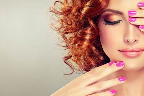 Gel Polish on Fingernails, Toenails, or Both at Salon One