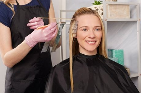 Cut and Finish with Optional Half Head Highlights or Full Head Colour at At Hair & Beauty