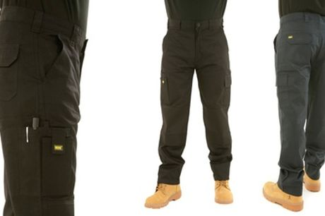 MIG Men's Cargo Work Trousers