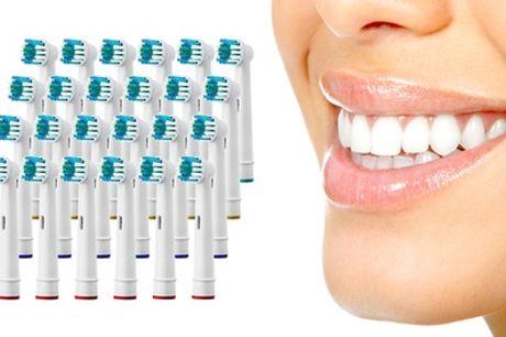 Paquete de 24 o 48 cabezales de cepillo de dientes compatibles con Oral-B