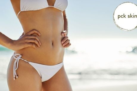 Three or Six Sessions of Brazilian or Hollywood Laser Hair Removal at PCK Skin, Nine Locations