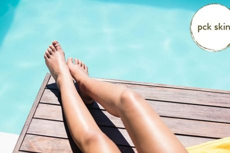 Three or Six Sessions of Laser Hair Removal on a Small, Medium or Large Area at PCK Skin, Six Locations