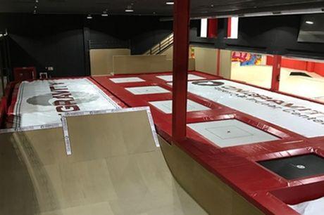 Acceso al centro de tecnificación de Freestyle Indoor para 1, 2, 4 o 10 personas desde 10,99 € en Ongravity
