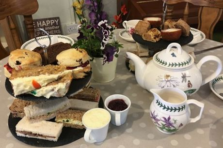 Sweet, Savoury or Mix of Both: Afternoon Tea for Two or Four at Umberslade Nurseries