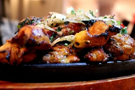 Two-Course Punjabi-Indian Meal with Side Dish for Two or Four at Kings Grill House