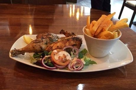 Chicken Steak and Side for Two or Four at Semedos