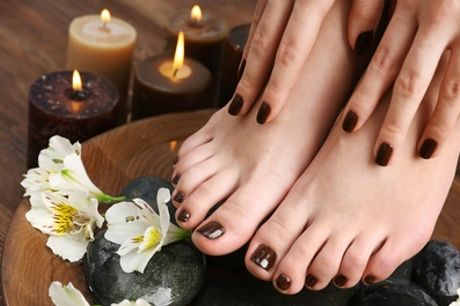 Gel Manicure or Pedicure or Both at Rouge Nails and Beauty