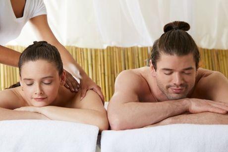 Masaje en pareja de 50 minutos por 29,95 € en Goldtriz Estetic Center