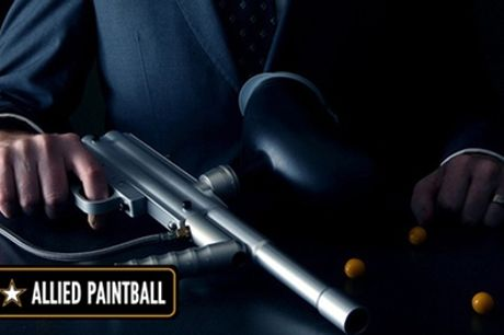 Paintball Day with Light Lunch and 100 Paintballs for Up to 15 at Allied Paintball