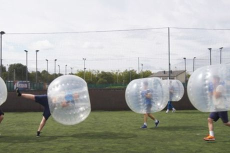 Zorb Football for Up to Ten, Multiple Locations with Zorball
