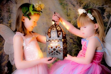 Children's Fantasy Photoshoot With Prints For Two with Peter Arciero
