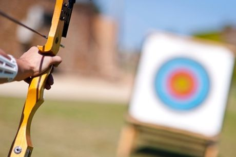 Target Archery or Field Archery at Moving Mountains Outdoor Skills Education