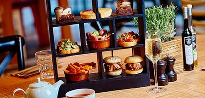 Afternoon Tea with Sparkling Wine for Two, Four or Six at Marco Pierre White Bardolino Bristol (Up to 33% Off)