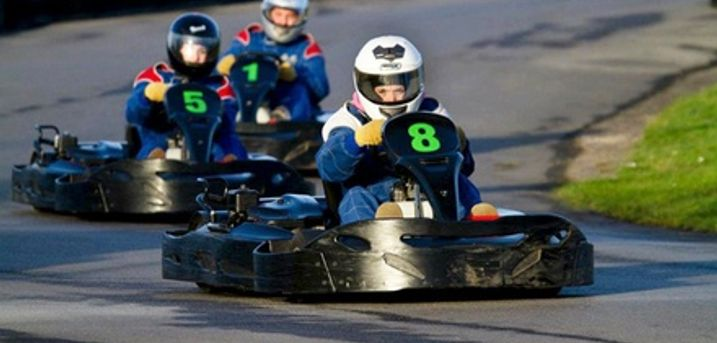 80 Karting Laps for Up to Four at West Country Karting