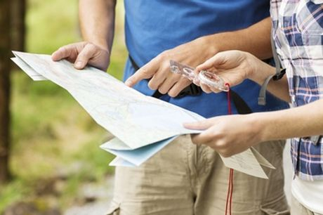 Orienteering for Up to Four or Family Adventure Day Out with Moving Mountains Outdoor Skills Education