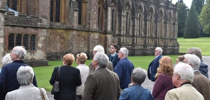 Two-Hour Downside Abbey Tour with Drink and Optional Hardback Book per Pair for Two or Four