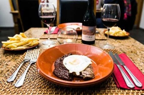 Two- or Three-Course Meal with Glass of Wine for Two or Four at Mãe Maria