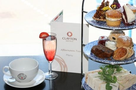 A Proper Lush Afternoon Tea with Prosecco Cocktail for Two or Four at Clayton Hotel Cardiff
