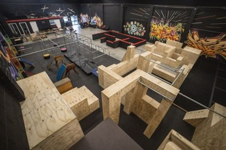 60-Minute Parkour Experience for One or Two Kids or Up to Four Adults at Fluidity Freerun Academy