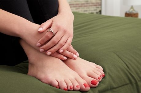 Gel Polish with Mani or Pedi or Both at Wags Hair and Beauty
