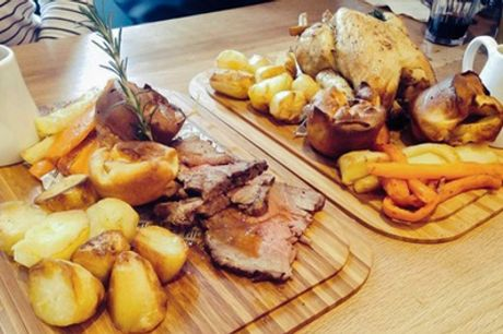 Sunday Roast Sharing Platter for Two or Four at Pitch Cardiff Bar & Eatery