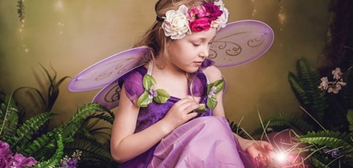 Children's Fairy Photoshoot With Prints at Sian Lewis Photography