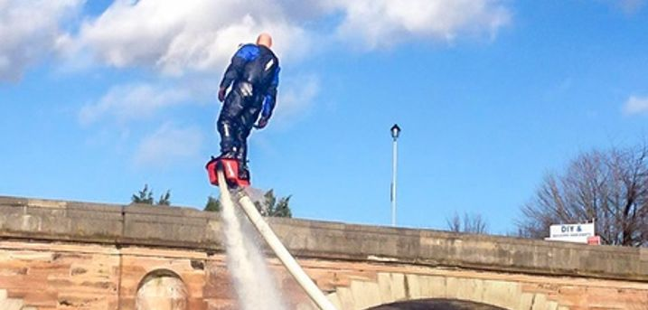 Flyboarding Experience for One or Two at Flyboard Fun