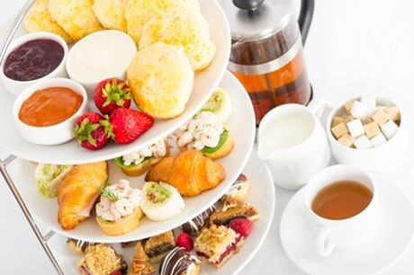 Traditional or Sparkling Afternoon Tea for Two at Brook Hall Hotel