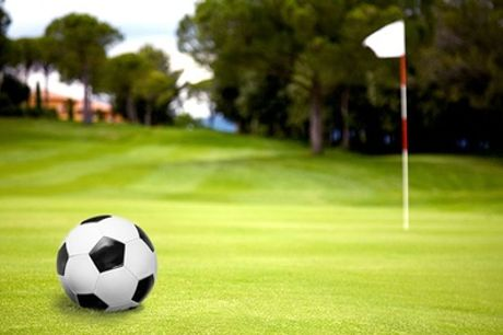 Footgolf for Two, Four or a Family of Two Adults and Two Children at Plymouth Golf Centre