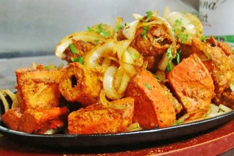 Mixed Grill with Naan and Beer or Wine for Two, Four or Six at Chillibite Bar & Grill