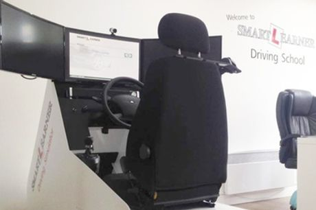 Up to Five 30-Minute Driving Simulator Sessions at Smartlearner
