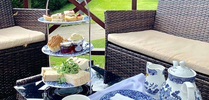 Afternoon Tea with Pool Access and Optional Glass of Prosecco for Two or Four at Bosworth Hall Hotel