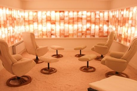 One Session of Salt Therapy for One at Little Himalaya